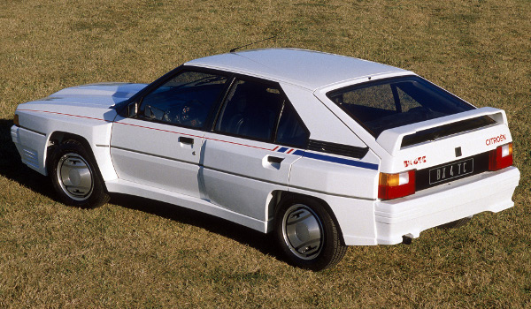 1985 CITROEN BX 4TC - Sport car technical specifications and performance