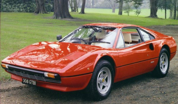 Agrandir la photo dela FERRARI 308 GTB