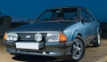FORD Escort XR3 concurrente la FORD Sierra XR4i