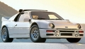 FORD RS200 concurrente la MERCEDES 190E 2.5-16 Evolution