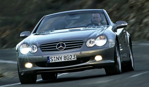 Plus de photo de la MERCEDES SL 600