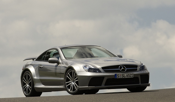 Plus de photo de la MERCEDES SL 65 AMG Black Series