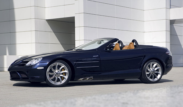 Plus de photo de la MERCEDES SLR Roadster