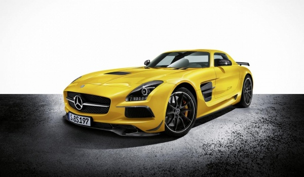 Plus de photo de la MERCEDES SLS AMG Black Series