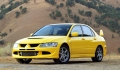 MITSUBISHI Lancer Evolution VIII concurrente la MAZDA 6 MPS