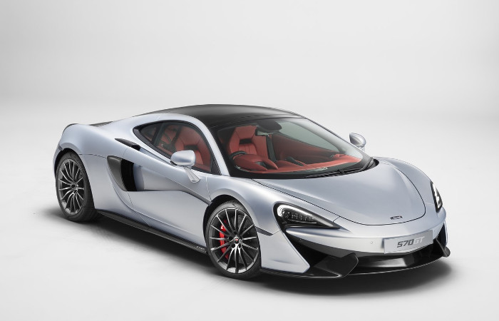 Plus de photo de la Mc LAREN 570 GT