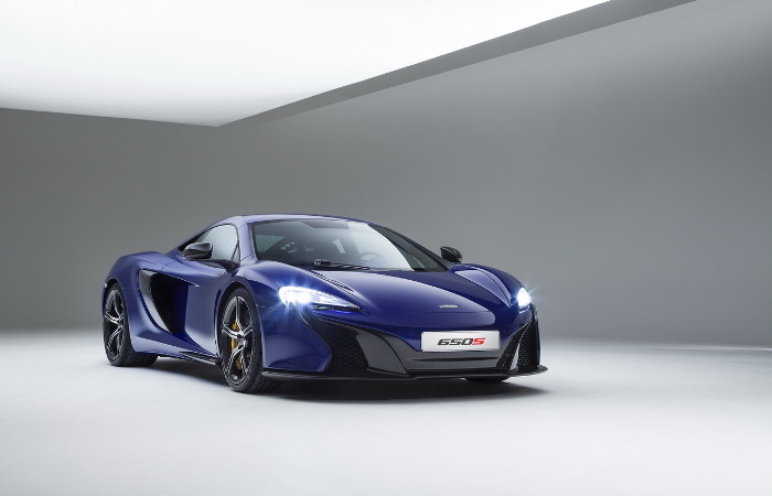 Plus de photo de la Mc LAREN 650S