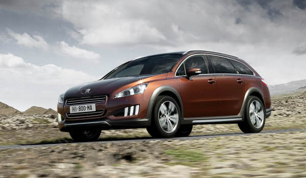 Plus de photo de la PEUGEOT 508 RXH