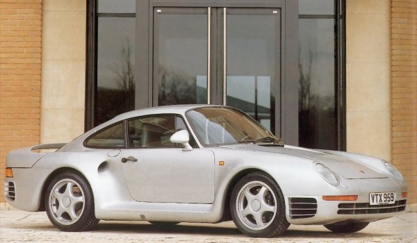 Agrandir la photo dela PORSCHE 959