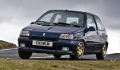 RENAULT Clio Williams concurrente la ROVER 220 Turbo