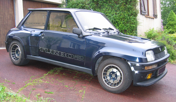la RENAULT R5 Turbo2