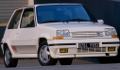 RENAULT Supercinq GT Turbo (1988) concurrente l' HONDA Civic sport